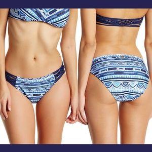 NWT Nanette Lepore Santorini Scallop Bikini Botto